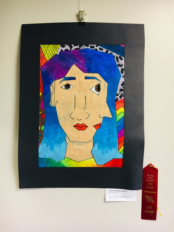 Youth Division (6th -8th Grade) - 2nd Place - Maya Reyes (6th Grade, Derby Middle School).JPG