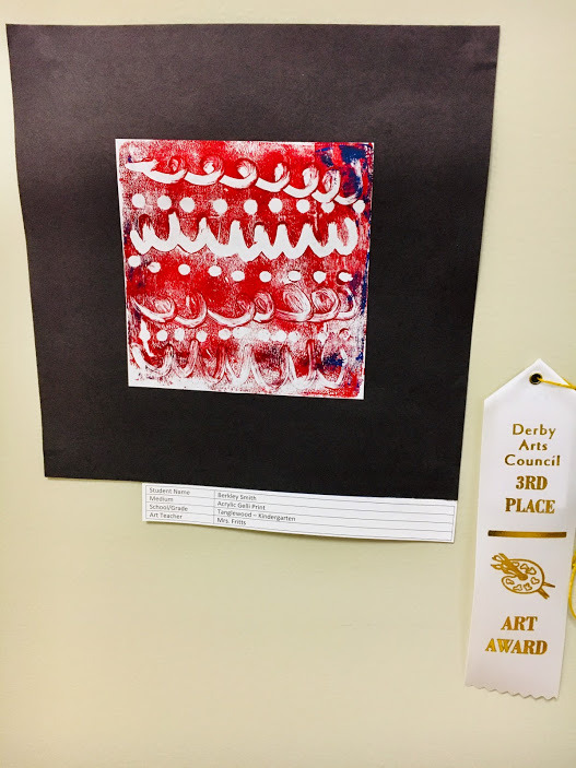 Youth Division (K - 2nd Grade) - 3rd Place - Berkeley Smith  (Kindergarten, Tanglewood Elementary).JPG