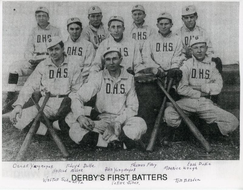 263 Derby Boys Baseball Team 1911 Myron Schwartz.jpg