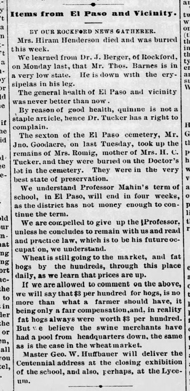 Wichita Weekly Beacon 1879-01-29 p5 (Items from El Paso and Vicinity).png