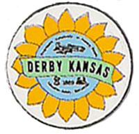 City of Derby Logo with sunflower