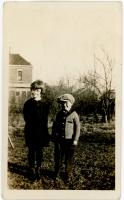 Siblings Mary and Paul Pendell<br /> circa 1927