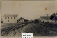 Main Street of Derby (Baltimore)<br /> looking south<br /> circa early 1900s<br />
