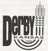 City of Derby logo with wheat stalk