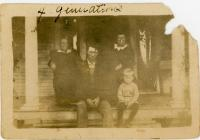 Four generations of the Clapham/Shockey family<br /> circa 1919