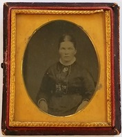 217 Margaret Dickson Garrett wedding photo Sept 1866 (Old Cowtown) Jerry Burnell.jpg