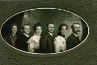 Mohr brothers and their wives <br /> circa 1910s