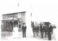 William and Alice Shorey<br /> early 1908